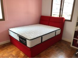 storage bed and mattress
