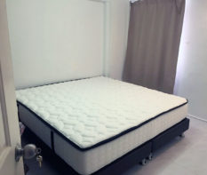 king size pocketed spring mattress
