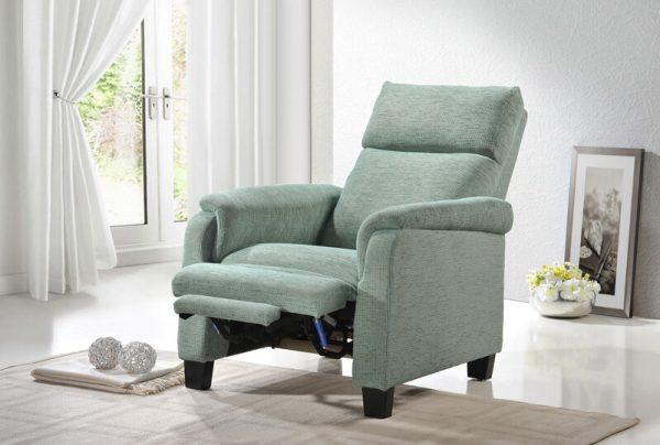 sofa fabric recliner armchair ... & Mabel Recliner Sofa u2013 Univonna islam-shia.org