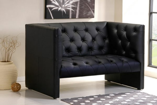 Oxford Pu Leather Sofa Univonna