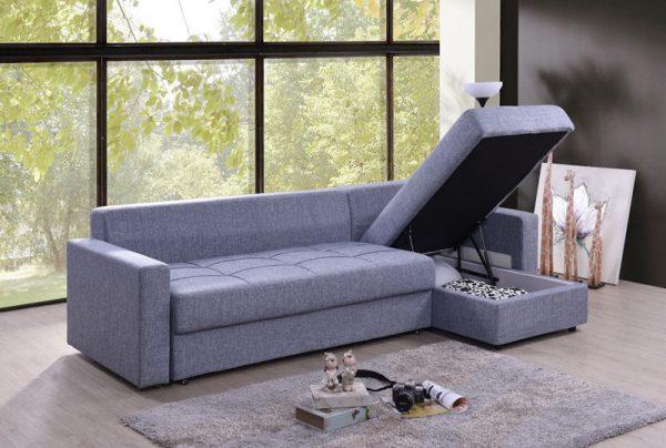 2589e6c20 Sophia 3 Seater L-shaped Sofa Bed