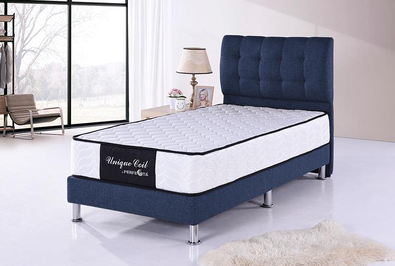 new arrival 7e778 5accb Fabric Divan Bed & 9-inch Spring Mattress
