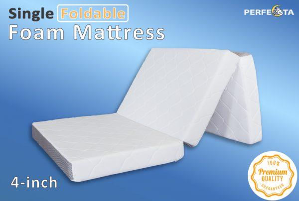 Single High Density Foam Folding Mattress Univonna