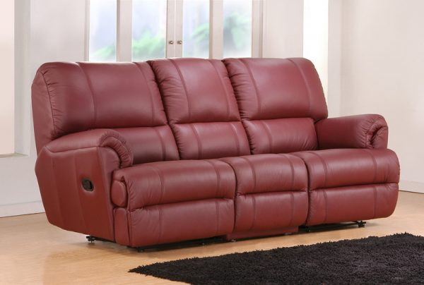 Awe Inspiring Linton Full Leather 3 Seater Recliner Sofa Andrewgaddart Wooden Chair Designs For Living Room Andrewgaddartcom
